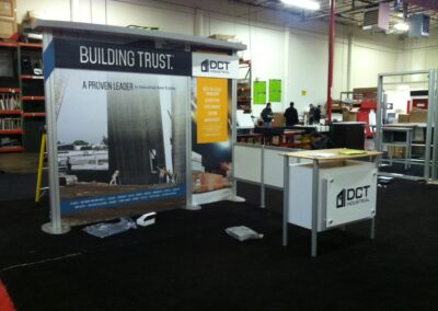 DCT Industrial Hybrid Trade Show Exhibit