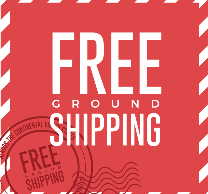 Come One, Come All and Enjoy Free Ground Shipping